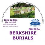 Berkshire Burials, 12th Edition, Update from 11th ed. (CD)