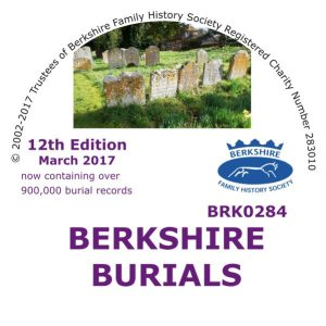 Berkshire Burials, 12th Edition, Update from 9th ed. (CD)