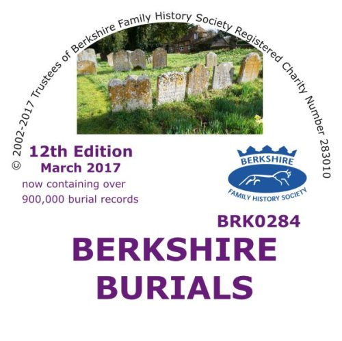 Berkshire Burials CD