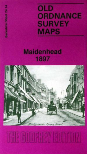 Maidenhead, Old Ordnance Survey Map, 1897
