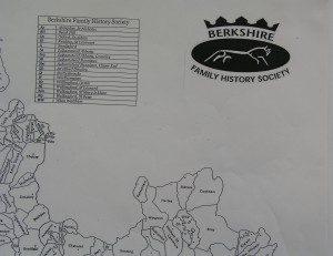 Berkshire Parish Map