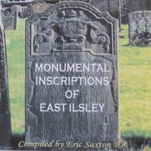 East Ilsley, Monumental Inscriptions of (CD)