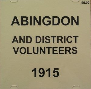 Abingdon & Districts Volunteers 1915 Roll of Honour