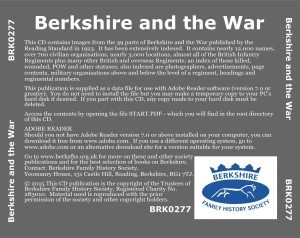 Berkshire and the War, Second Edition (CD)
