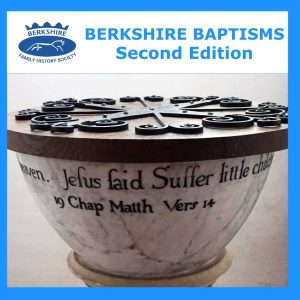 Berkshire Baptisms, 2nd Edition (CD)