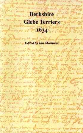 Berkshire Glebe Terriers 1634 (Berkshire Record Society Volume 2)