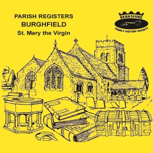 Burghfield, St Mary, Parish Registers (CD)