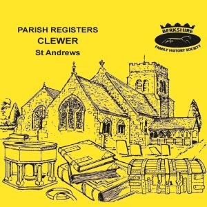 Clewer, St Andrew's, Parish Registers (CD)