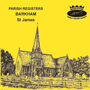 Barkham, St James, Parish Registers (CD)