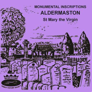 Aldermaston, St Mary the Virgin, Monumental Inscriptions (CD)
