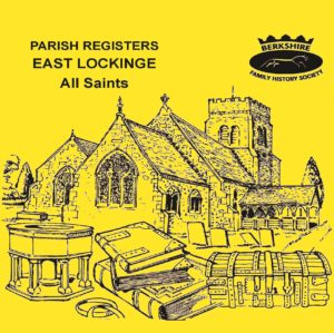 East Lockinge, All Saints, Parish Registers (CD)