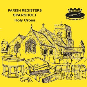 Sparsholt, Holy Cross, Parish Registers (CD)