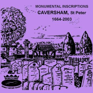 Caversham, St Peter, Monumental Inscriptions (CD)