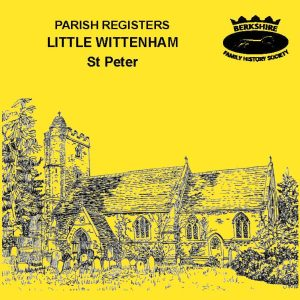 Little Wittenham, St Peter, Parish Registers (CD)
