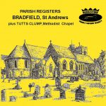 Bradfield, St Andrew, Parish Registers & Tutts Clump BMDs (CD)