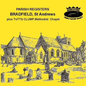 Bradfield, St Andrew, Parish Registers & Tutts Clump BMDs (CD)