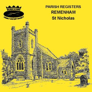 Remenham, St Nicholas, Parish Registers (CD)