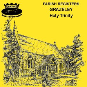Grazeley, Holy Trinity, Parish Registers (CD)