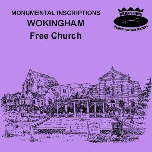 Wokingham, Free Church, Monumental Inscriptions 1921-2009 (CD)