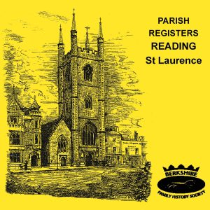 Reading, St Laurence, Parish Registers (CD)