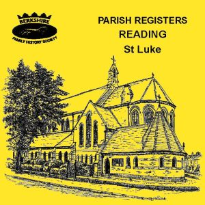Reading, St Lukes, Parish Registers (CD)