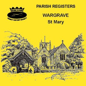 Wargrave, St Mary, Parish Registers CD
