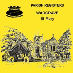 Wargrave, St Mary, Parish Registers CD