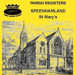 Speenhamland, St Mary, Parish Registers (CD)