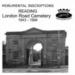 Reading London Road Cemetery, Monumental Inscriptions, 1843-1994 (CD)