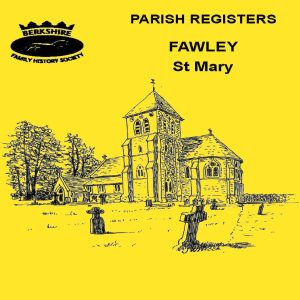 Fawley, St Mary, Parish Registers BFHS (CD)