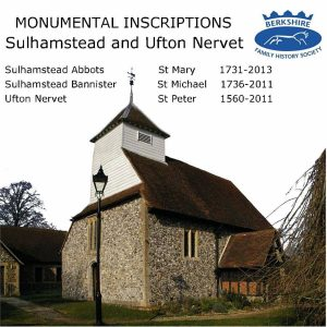 Sulhamstead and Ufton Nervet, Monumental Inscriptions (CD)
