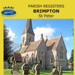 Brimpton, St Peter Parish Registers, 1607-1992 (CD)