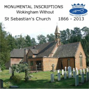 Wokingham, St Sebastian's, Monumental Inscriptions, Version 2 (CD)