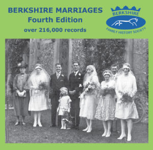 Berkshire Marriages, Fourth Edition, Update from 3rd Edition (CD)
