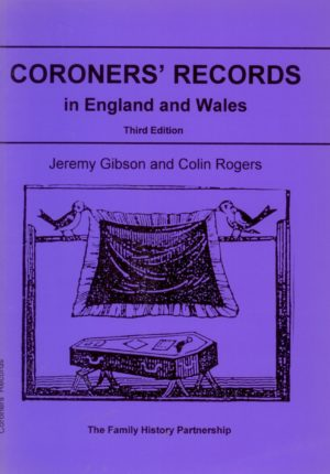 Coroners' Records (A Gibson Guide)