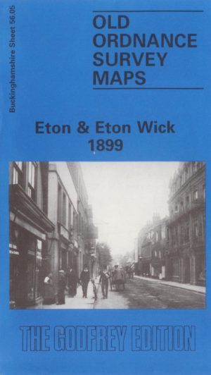 Eton & Eton Wick, Old Ordnance Survey Map, 1899