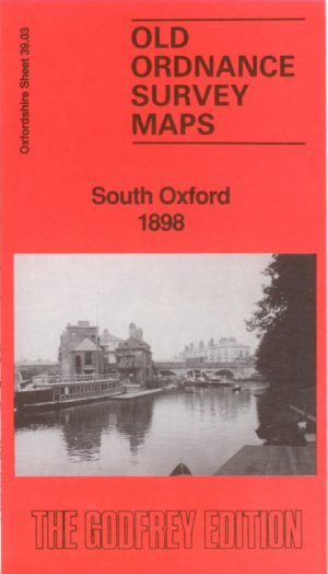 South Oxford, Old Ordnance Survey Map, 1898