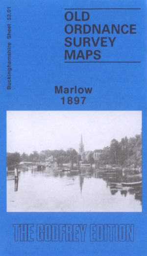 Marlow, Old Ordnance Survey Map, 1897