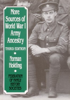 More Sources of World War 1 Army Ancestry