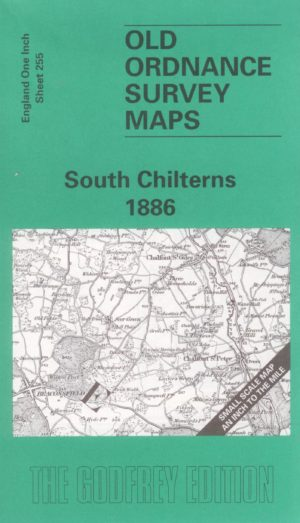 South Chilterns, One Inch Old Ordnance Survey Map, 1886