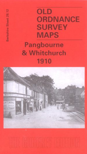 Pangbourne & Whitchurch, Old Ordnance Survey Map, 1910