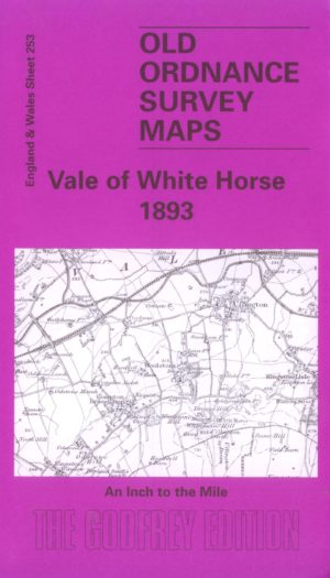 Vale of the White Horse, One Inch Old Ordnance Survey Map, 1893