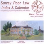 Surrey Poor Law, Index & Calendar (CD)