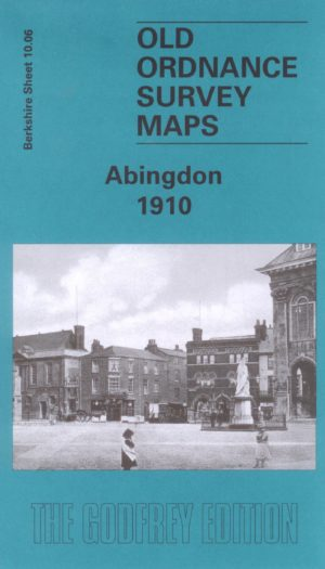 Abingdon, Old Ordnance Survey Map, 1910