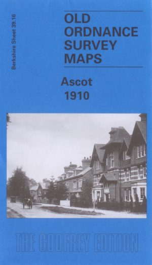 Ascot, Old Ordnance Survey Map, 1910