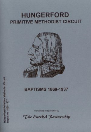 Hungerford Primitive Methodist Circuit Baptisms 1869-1937