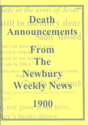 Newbury Weekly News, Death Announcements from  1900