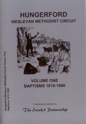 Hungerford Wesleyan Methodist Circuit, Volume 1, Baptisms 1810-1880