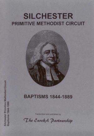 Silchester Primitive Methodist Baptisms 1844- 1889