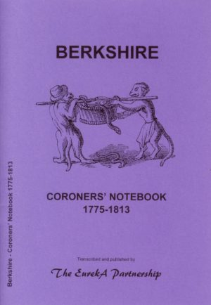 Berkshire Coroners Notebook 1775-1813